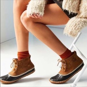 Sorel Duck Boots Size 6 NWT